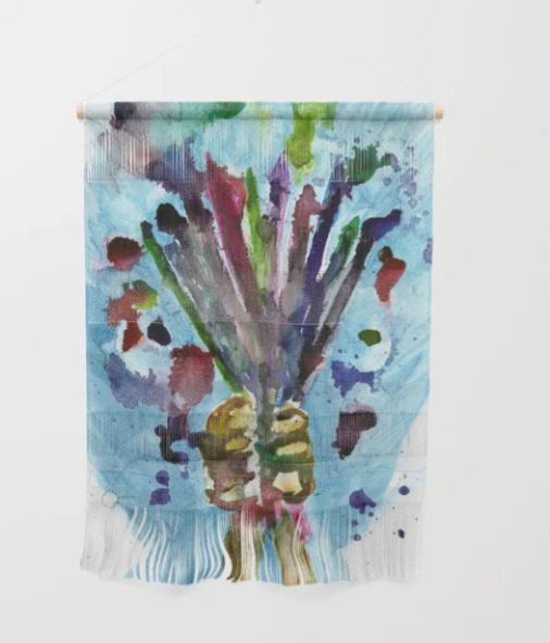 Artists Bouquet Wall Hanging