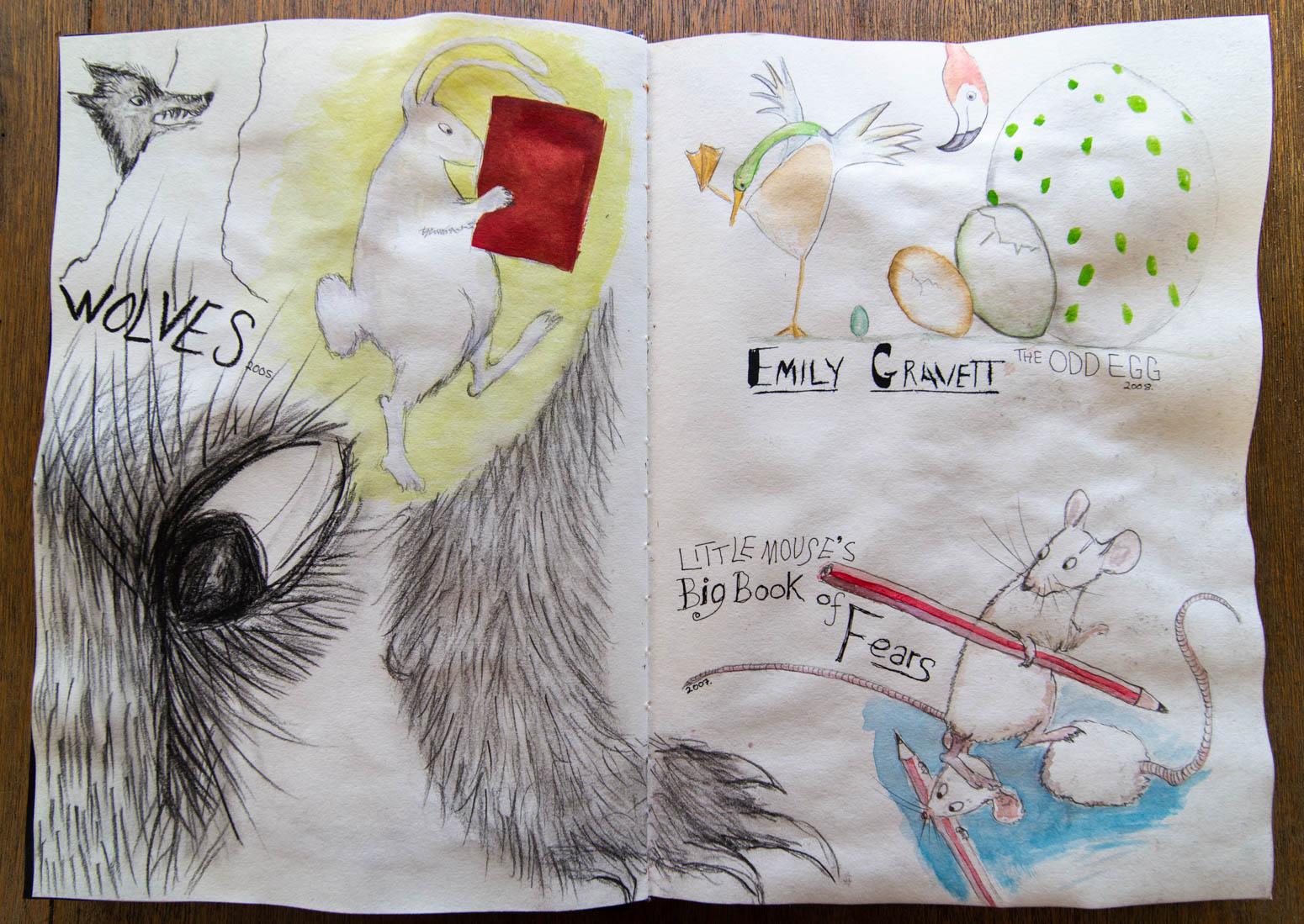 Emily Gravett - Illustrator Studies