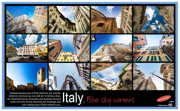 Italy, - Italy, Blue sky Corners