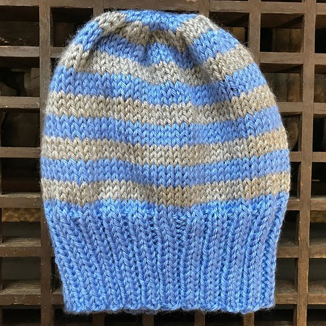 Another custom-knit hat in Carolina blue & gray is winging its way to its new owner in exchange for a donation! Email knittersforflint@gmail.com if you'd like to inquire about custom knits!  #knittersforflint #knitthewave #knittersofinstagram #craftivism