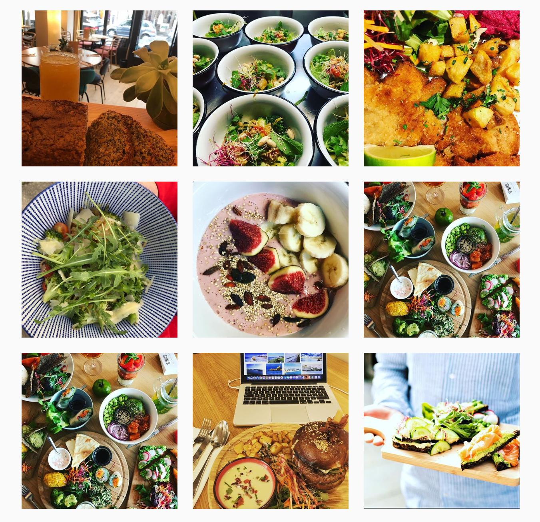 インスタグラム も彩鮮やかな食事の写真で溢れています。