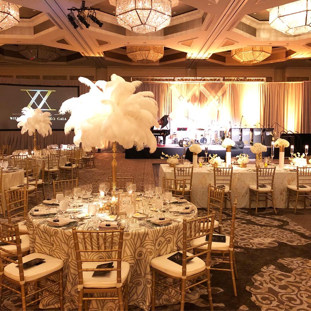 Great Gatsby Glitz Inspired Charity Gala Four Seasons