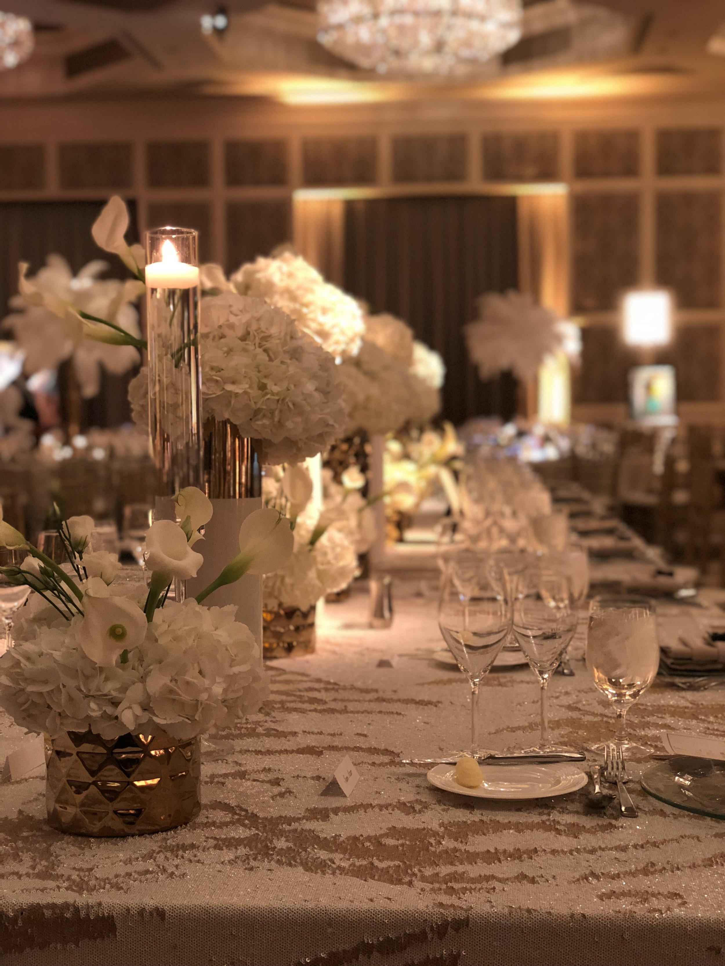 Great Gatsby Gold and White Glitz Inspired Charity Gala-Four Seasons