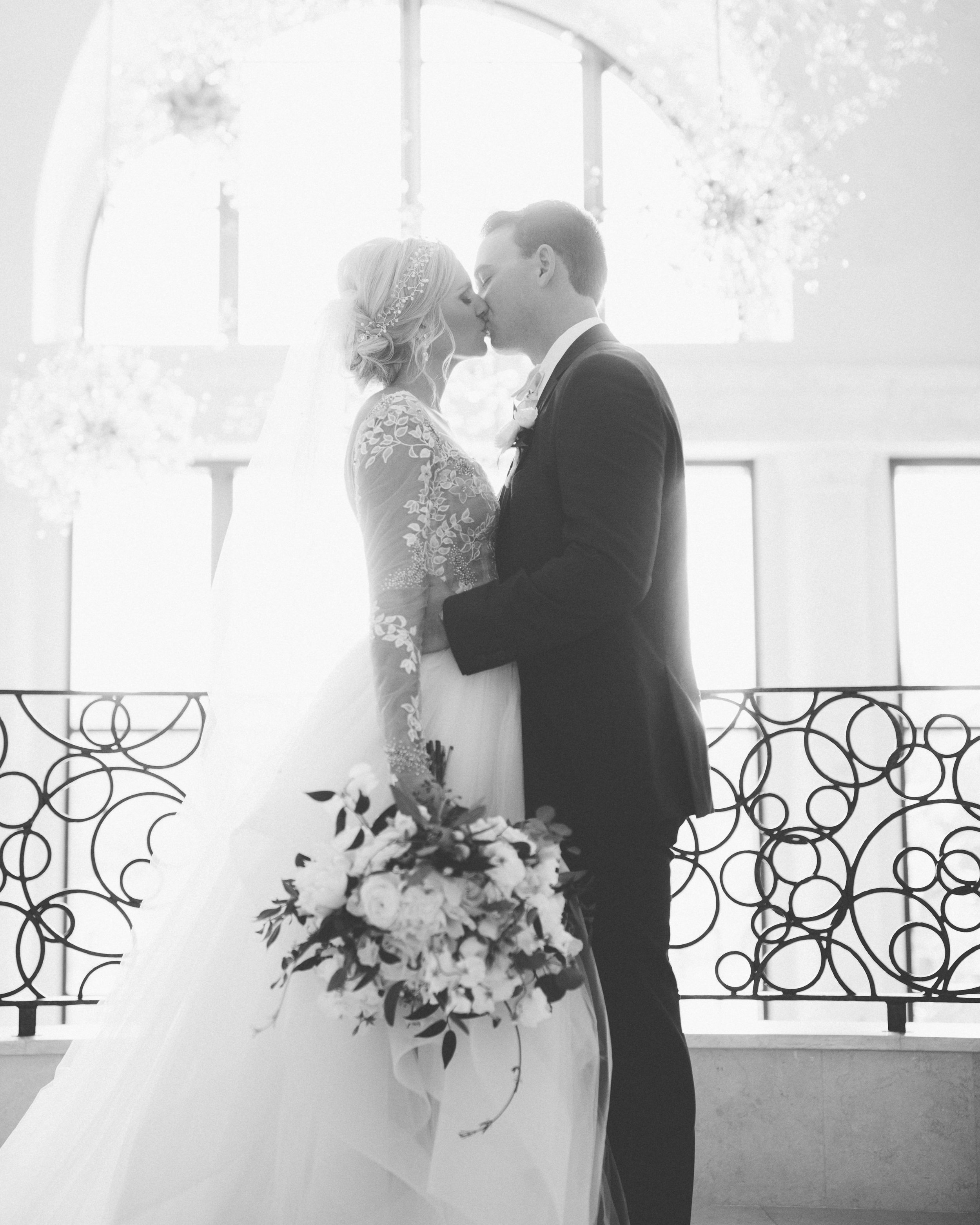 Hayley Paige fairytale bride and groom at Four Seasons Orlando