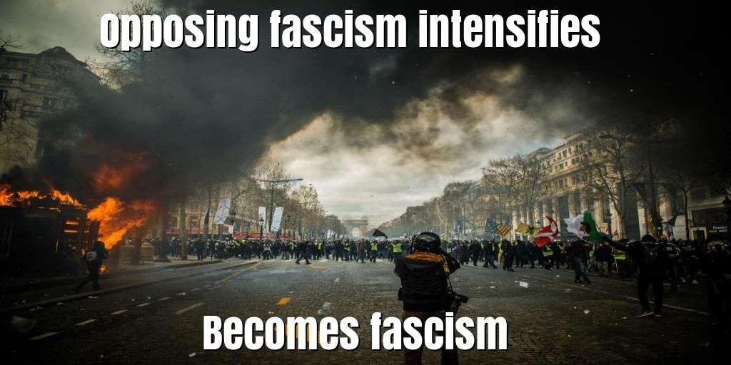 CNN Anchor Opposes fascism - Describes Antifa terror group as 'a good cause'