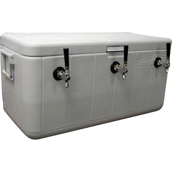 Triple tap Jockey Box (Beer Dispensing System), includes CO2 canister - 1 available | Rent for $100