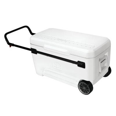 110qt Extra Large Cooler on Wheels, holds 168 cans - 1 available | Rent for $15