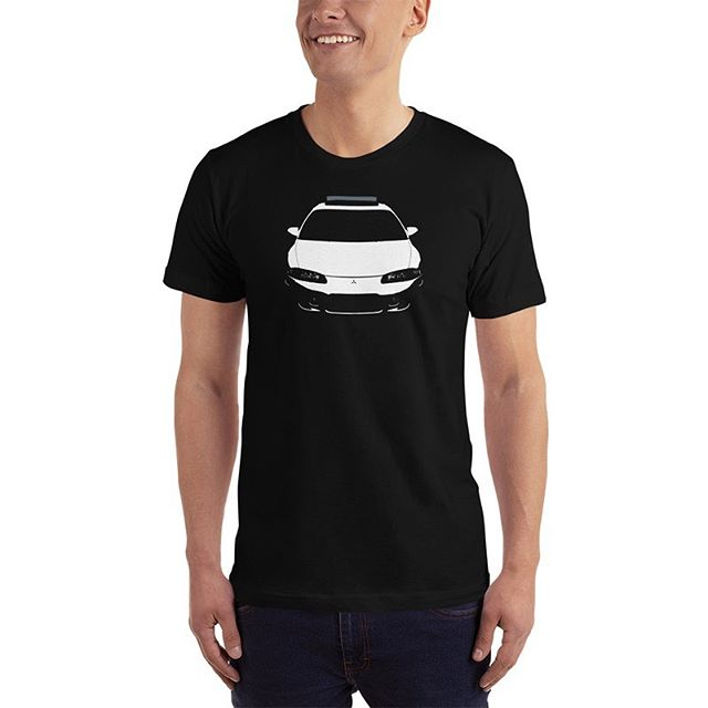 Super proud of this product! The new 2G Mitsubishi Eclipse Cutout T-Shirt is now available! Only at www.DSMnation.com/shop
