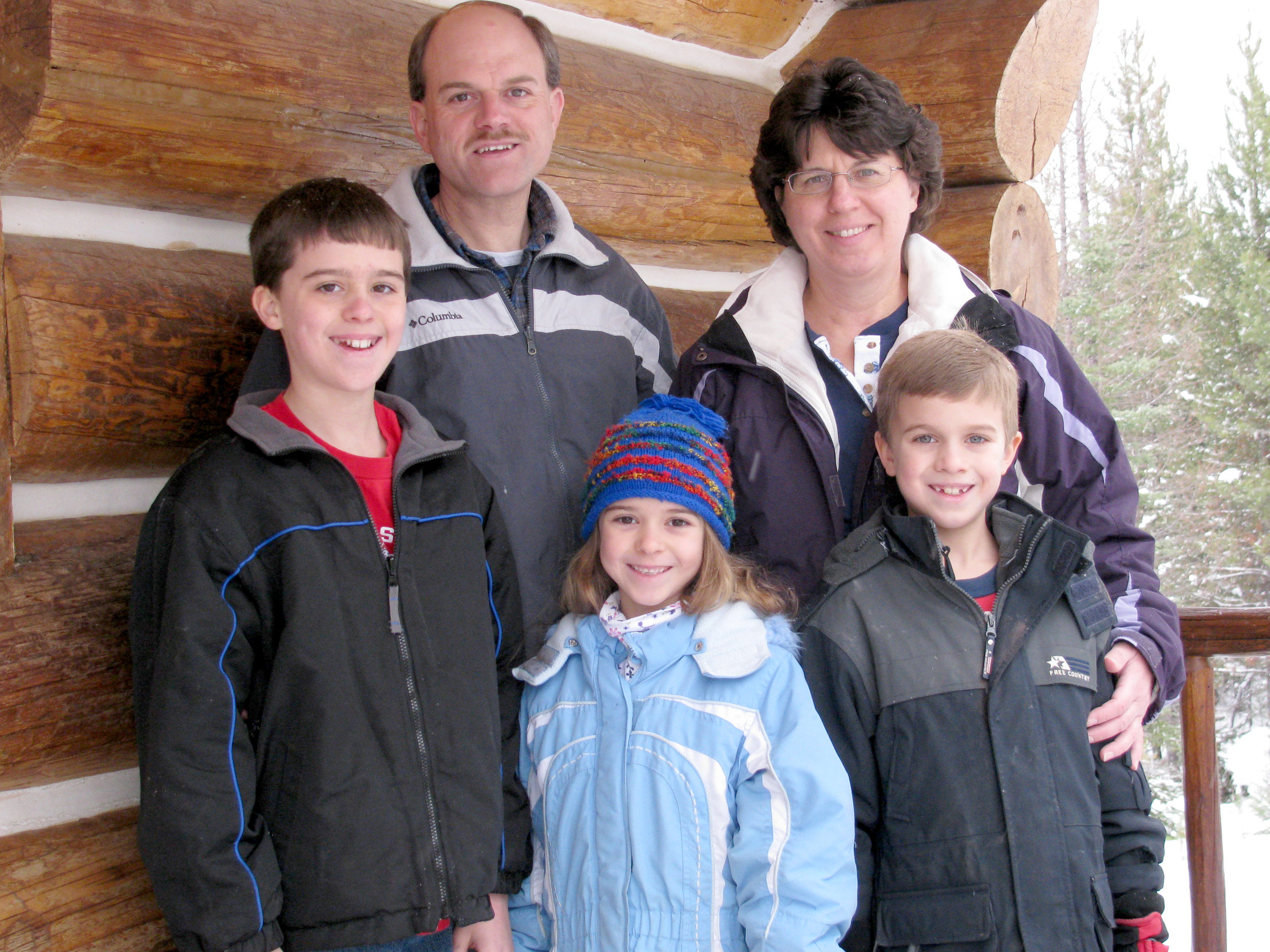 Gary & Cindy Scull and Family