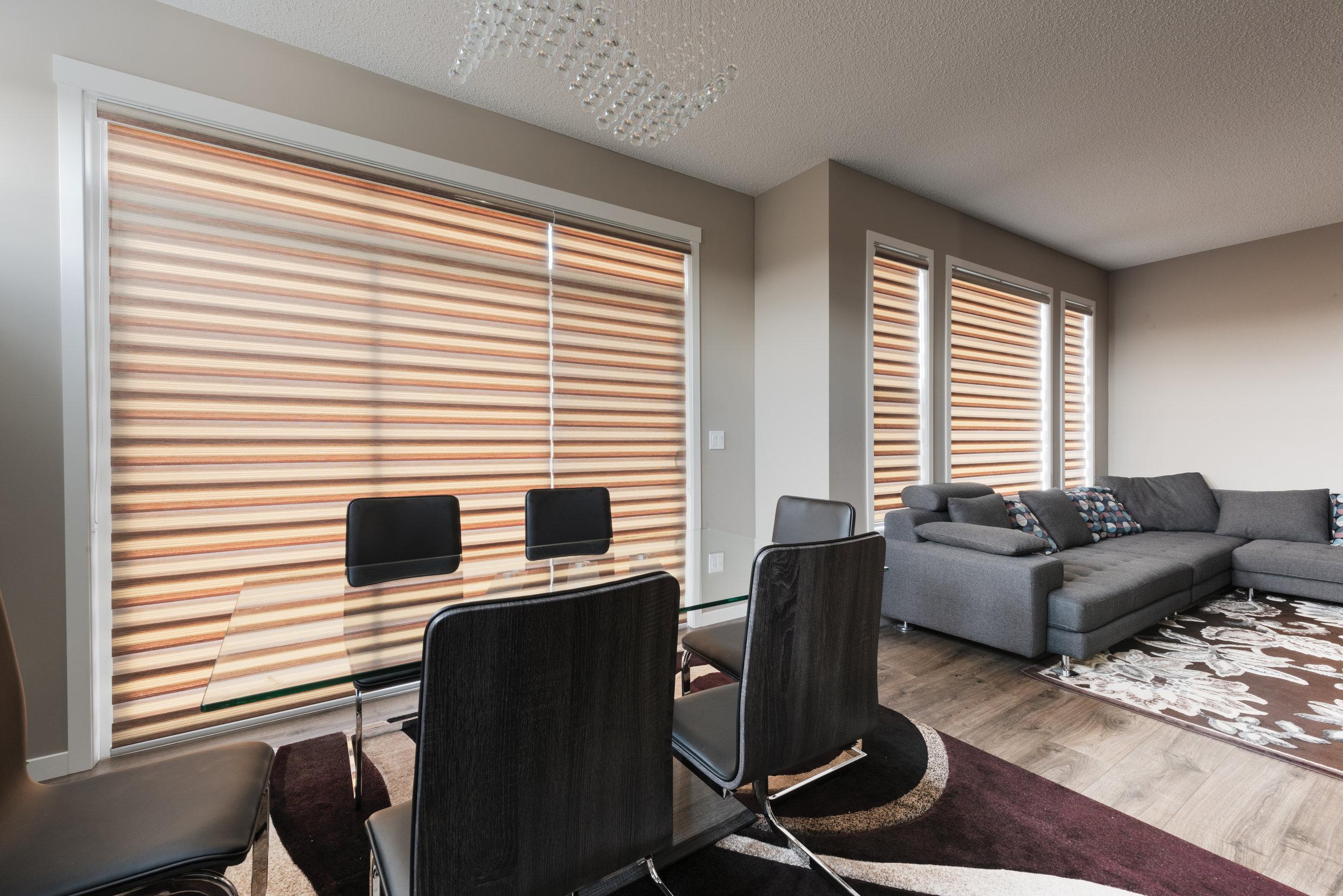 calgary luxury blinds - zebra blinds