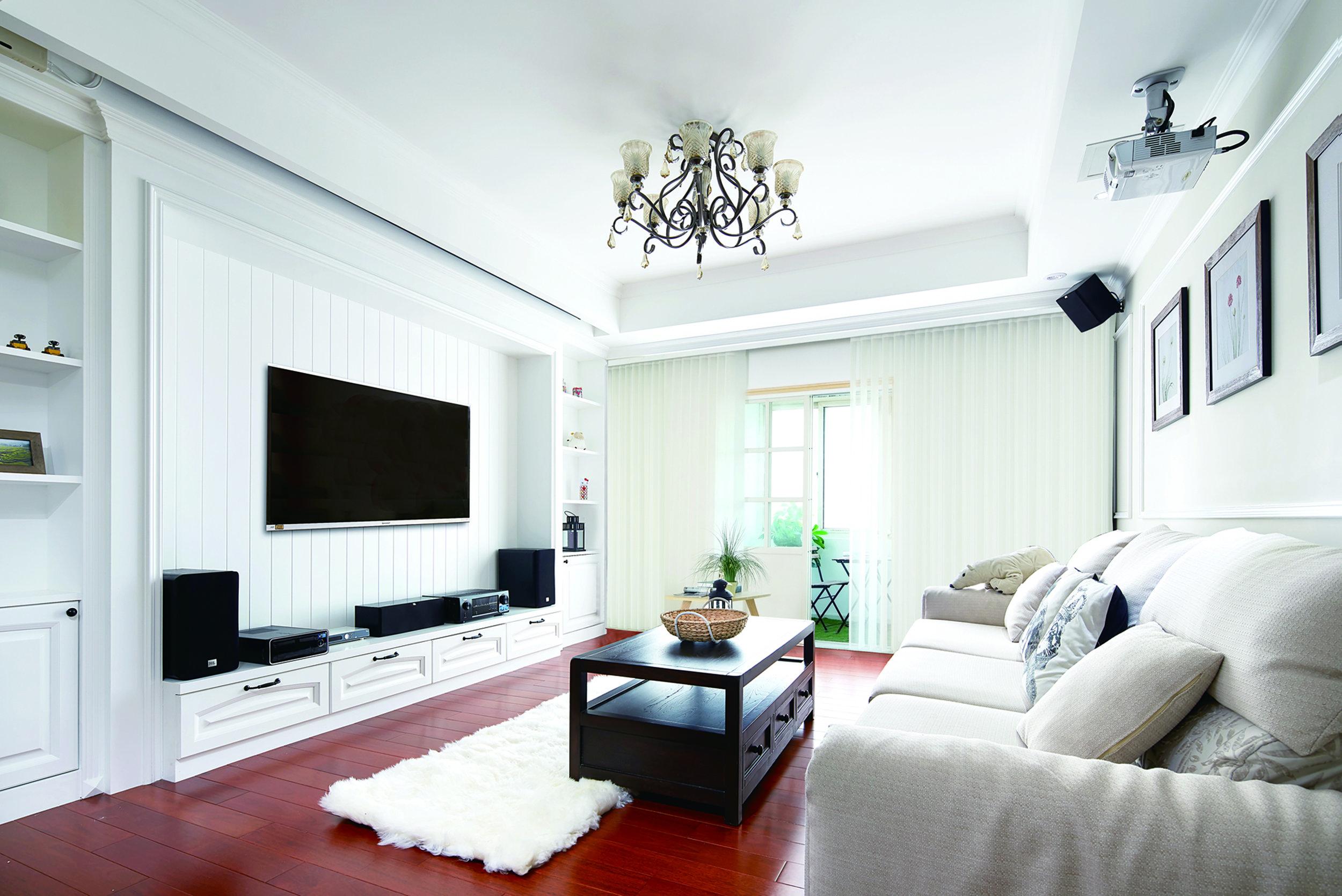 vertical blinds calgary - living area