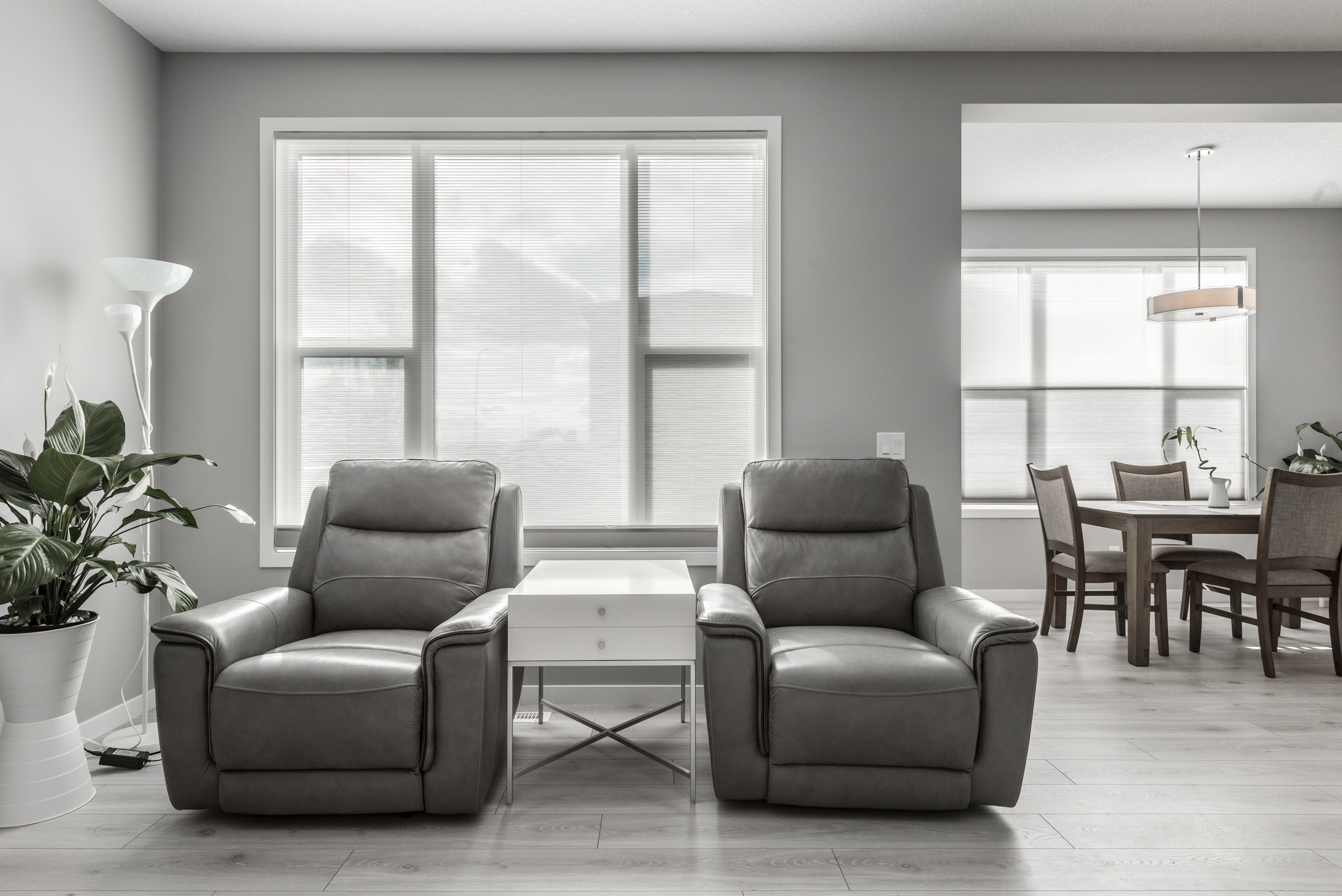 calgary cellular shades - honeycomb blinds home theatre