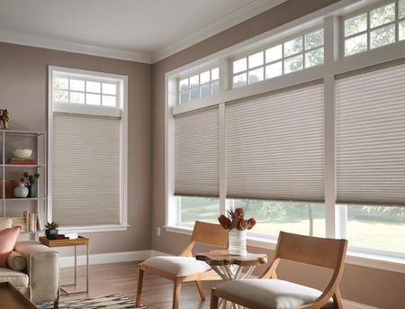 honeycomb shades calgary - living room cellular shades
