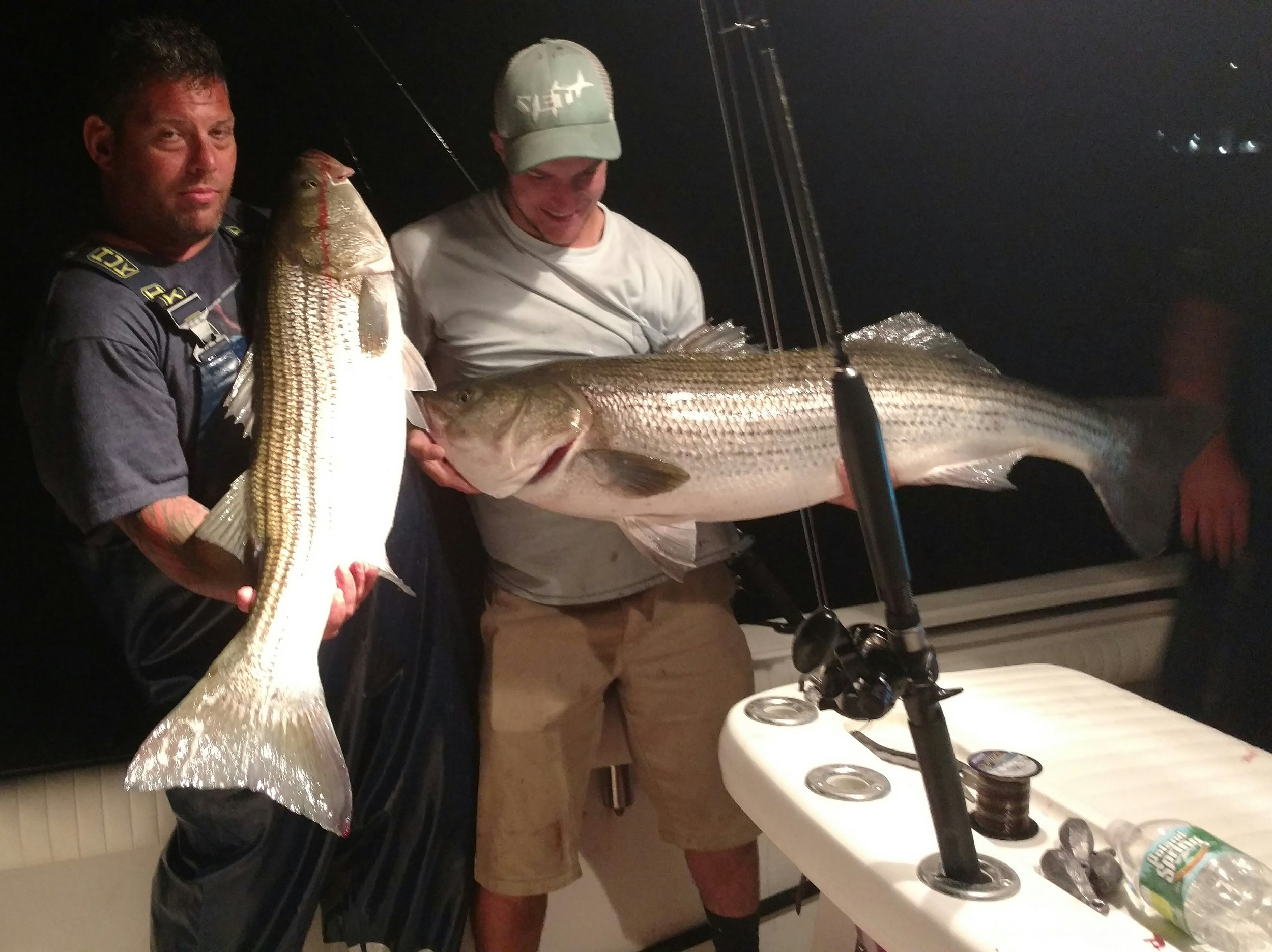 NIGhT STriped bass - Click for details/ Pricing