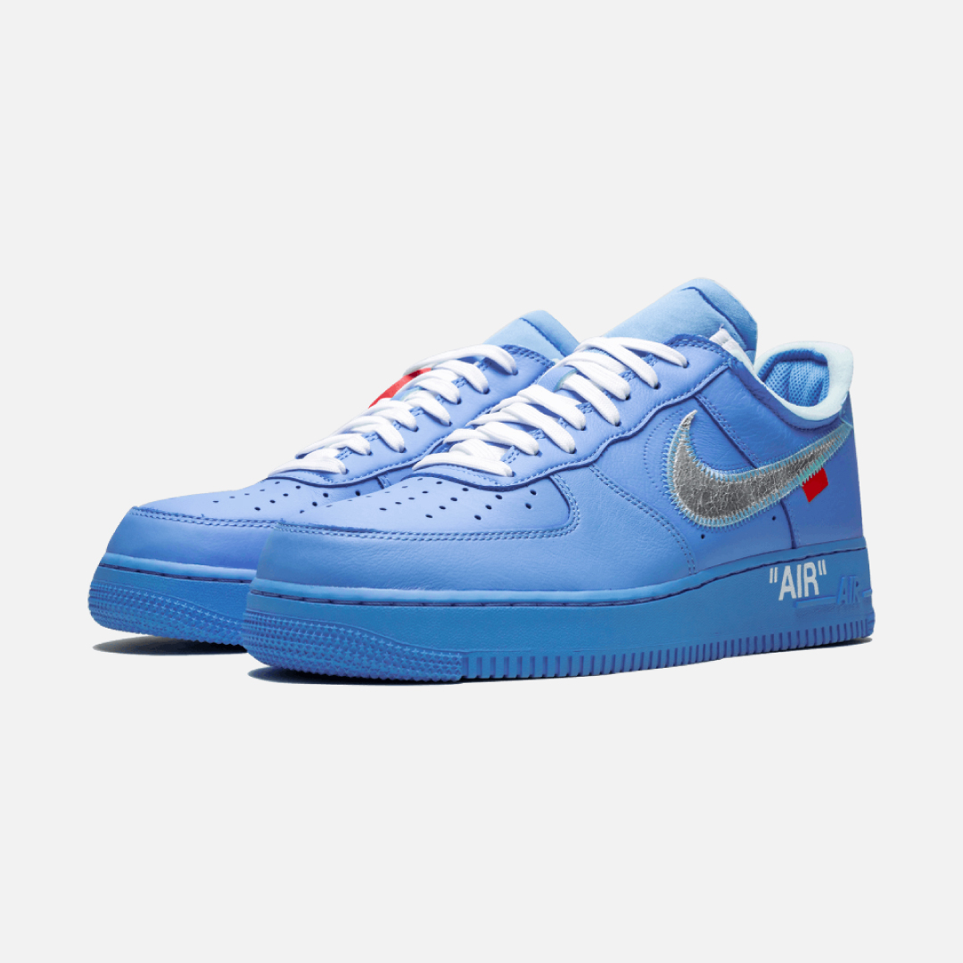 Off White X Nike Air Force 1 Mca Runrs Up
