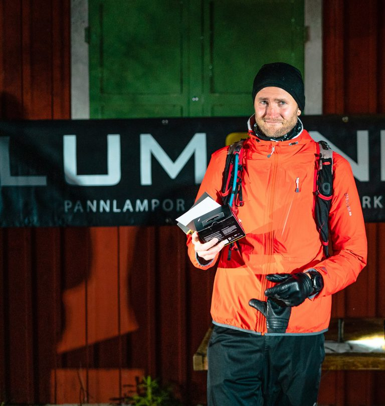 Snabbast i mål på fina 2:07 var Sebastian Pokorny, Uptown Runners