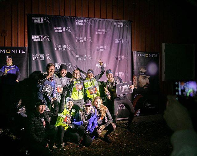 Massvis med fina bilder från i lördags finns nu på Night Trail Runs sida på Facebook! #nighttrailrun #reclaimthedarkness