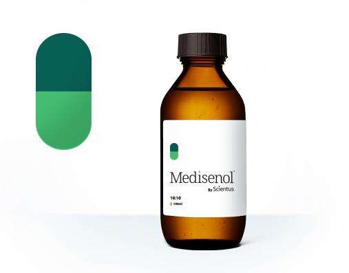 10 mg THC/ml and 10 mg CBD/ml Oil