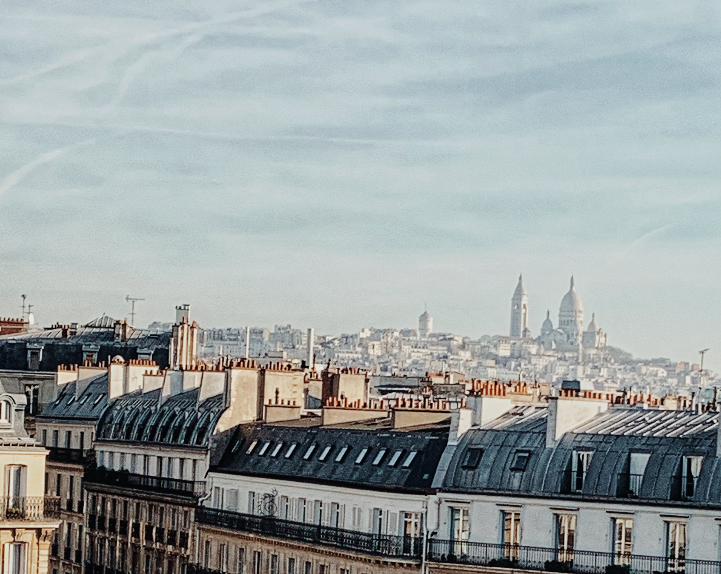 ROOFTOP VIEW OF MONTMARTRE, PARIS
