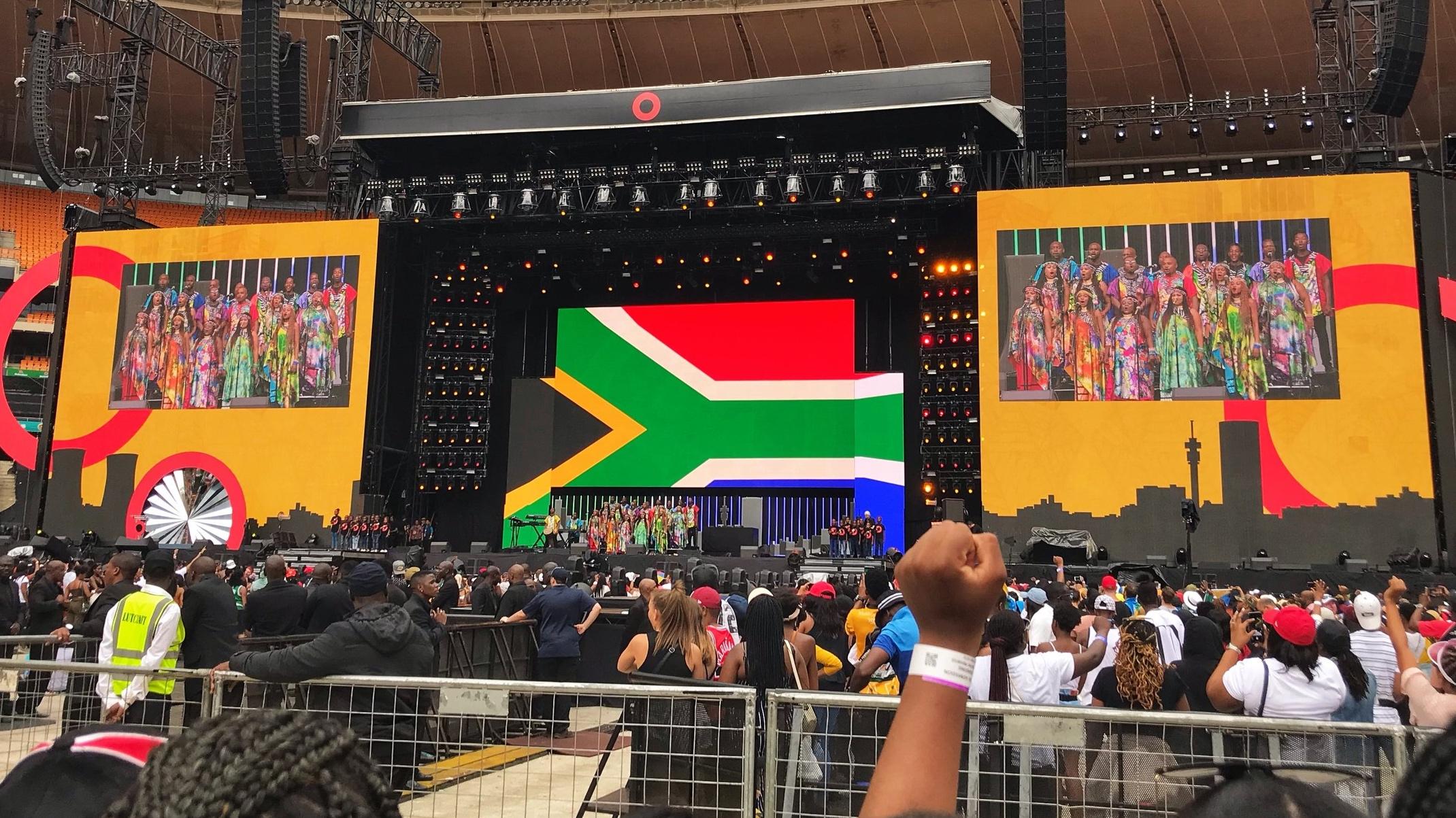 Global Citizen Festival: Mandela 100 - Johannesburg, South Africa