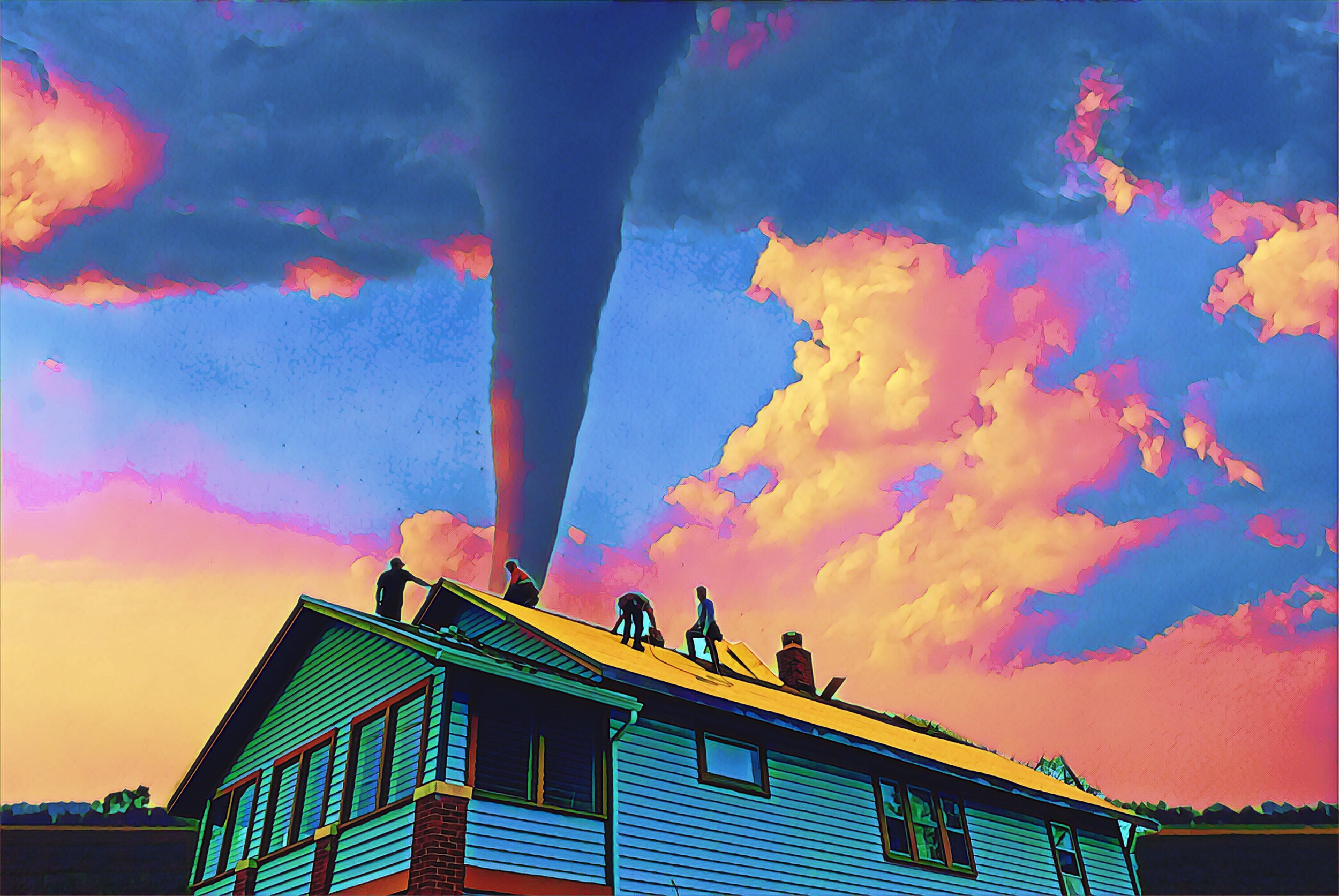 Tornado Damage - Get $500 off your roof replacement.