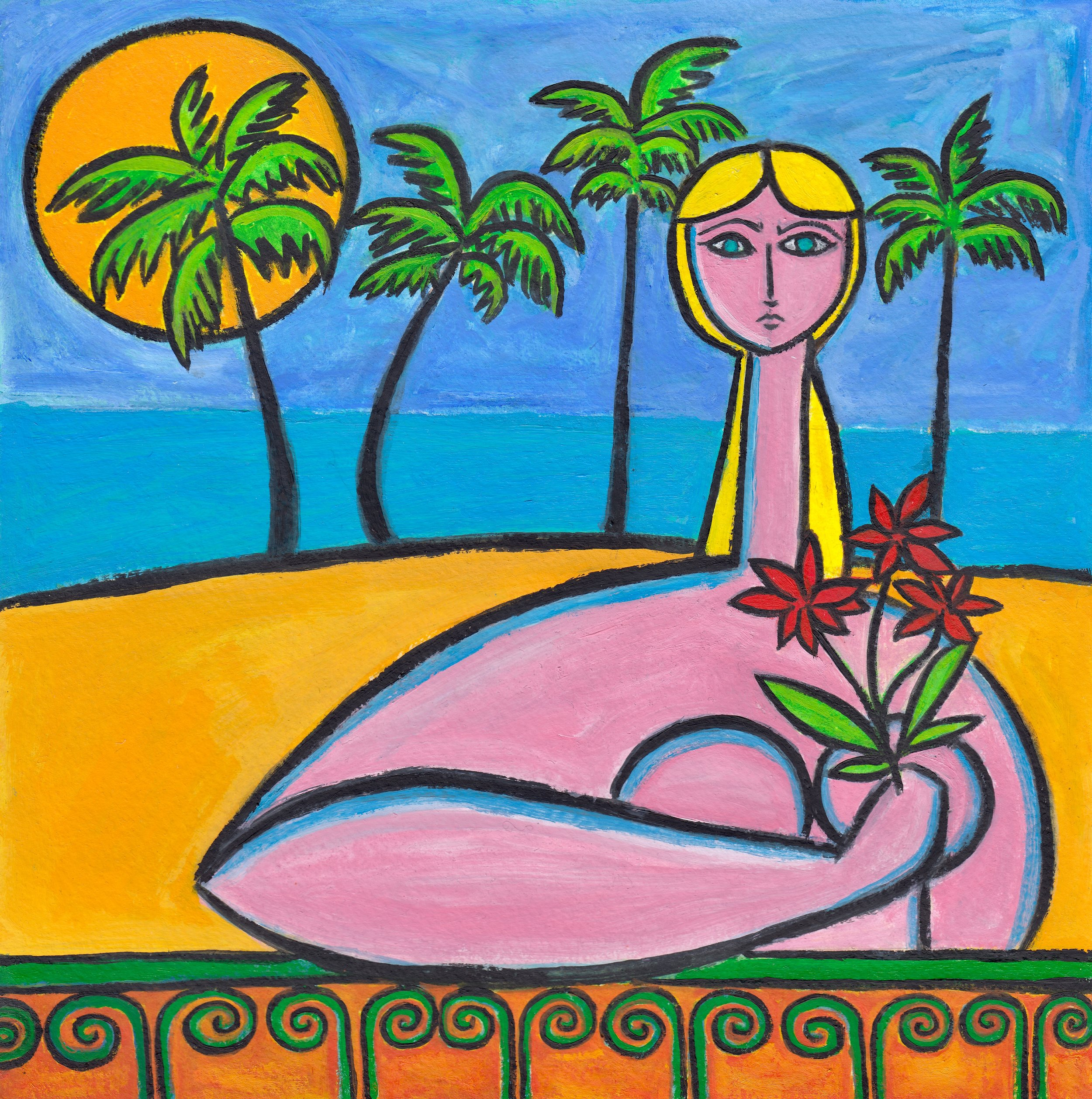 beachside-with-red-flowers-painting-paul-zepeda-wet-paint-nyc.jpg