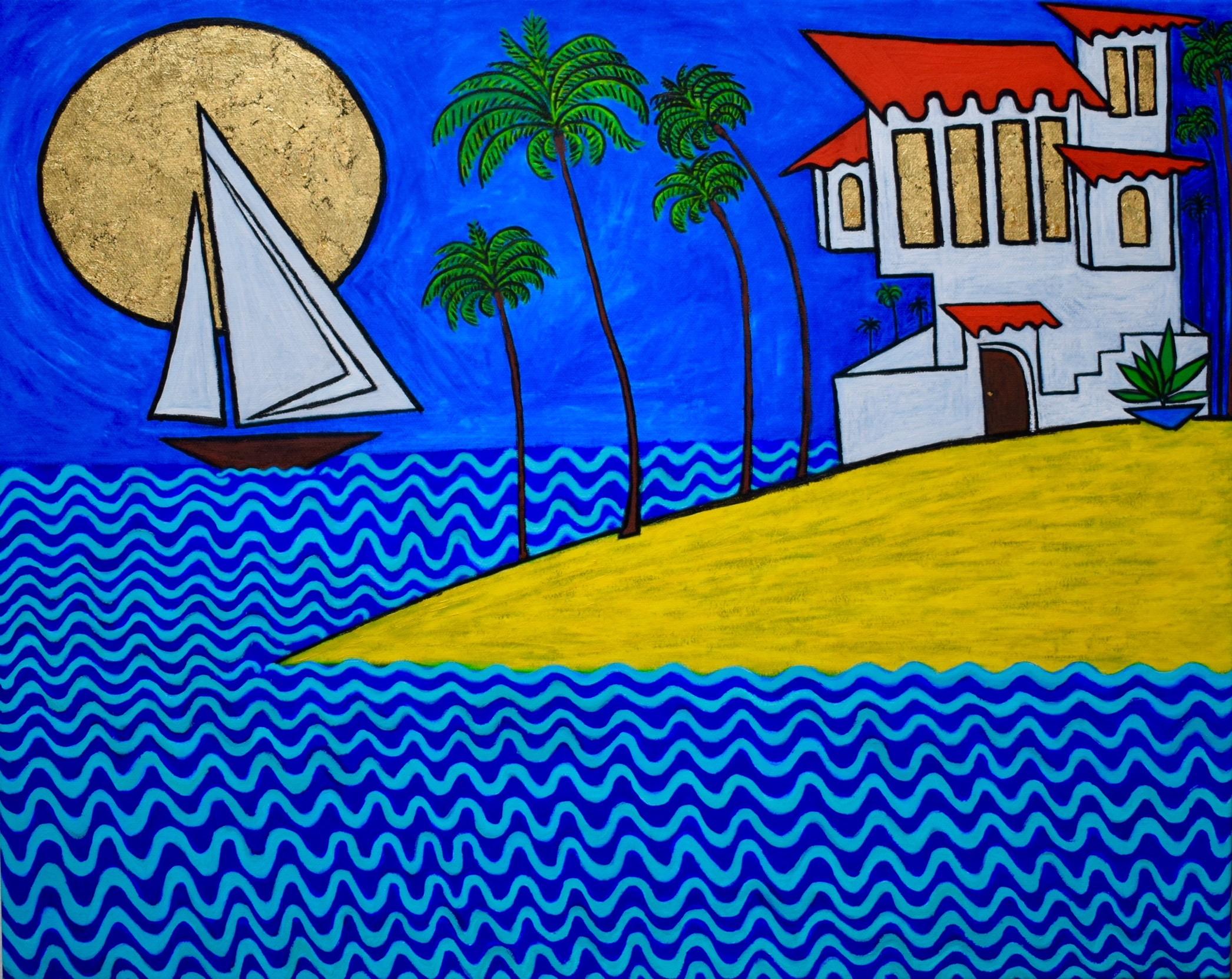Seaside II Painting Paul Zepeda Wet Paint NYC.jpg