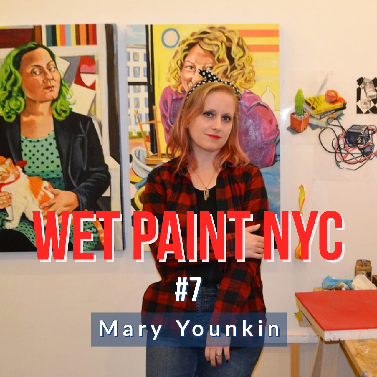 Artist Mary Younkin discusses staying organized, community, residencies, current projects and inspirational women.