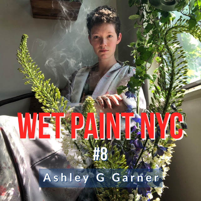 Ashley G Garner keeps it real as she describes her experiences in fashion, the art market, life in New York and her beautifully unusual artistic projects.