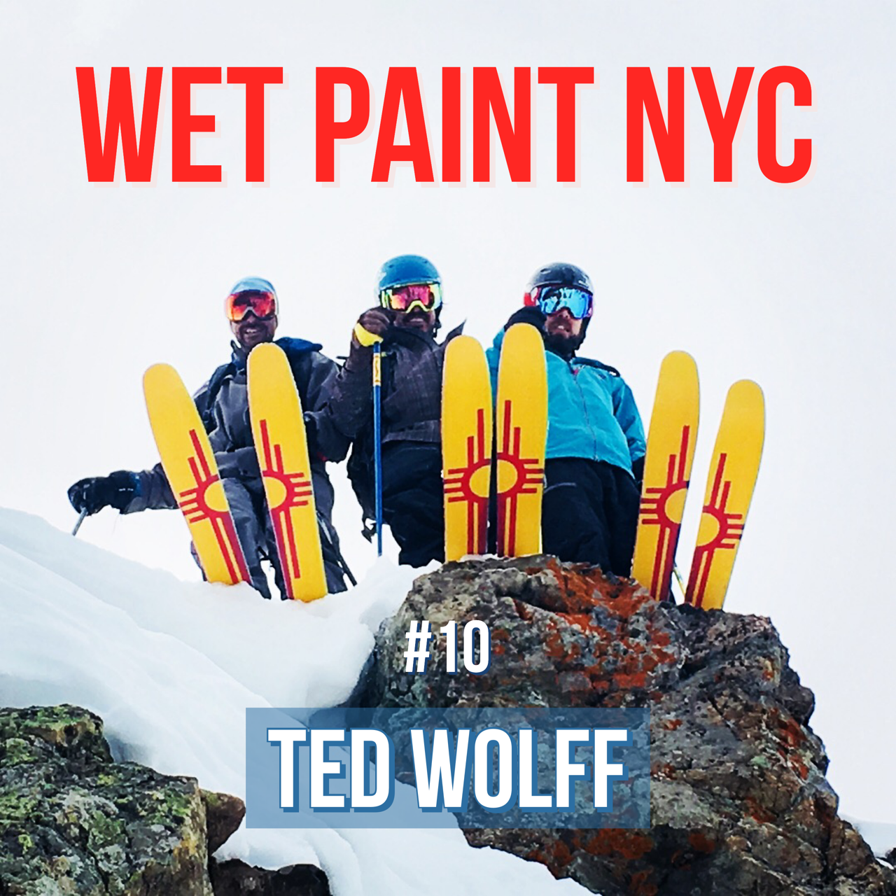 Ted Wolff tells us about life as an extreme skier, Breaking Bad conspiracies and his Made in America ski company Just Point It, based in New Mexico. Special guests include a very happy baby.