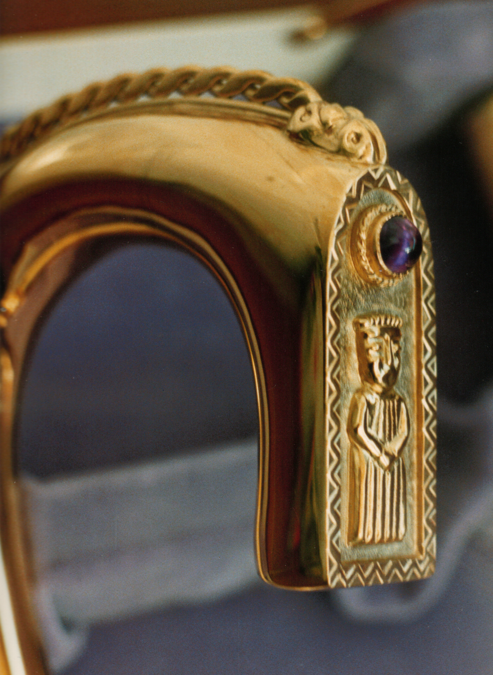 The head of a crozier