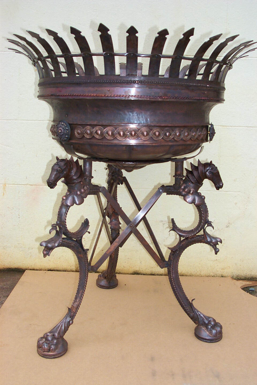 Copper Brazier for King Arthur