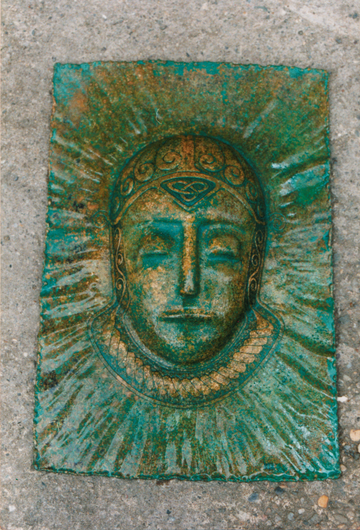 Bronze Plaque DruidWarrior.jpg