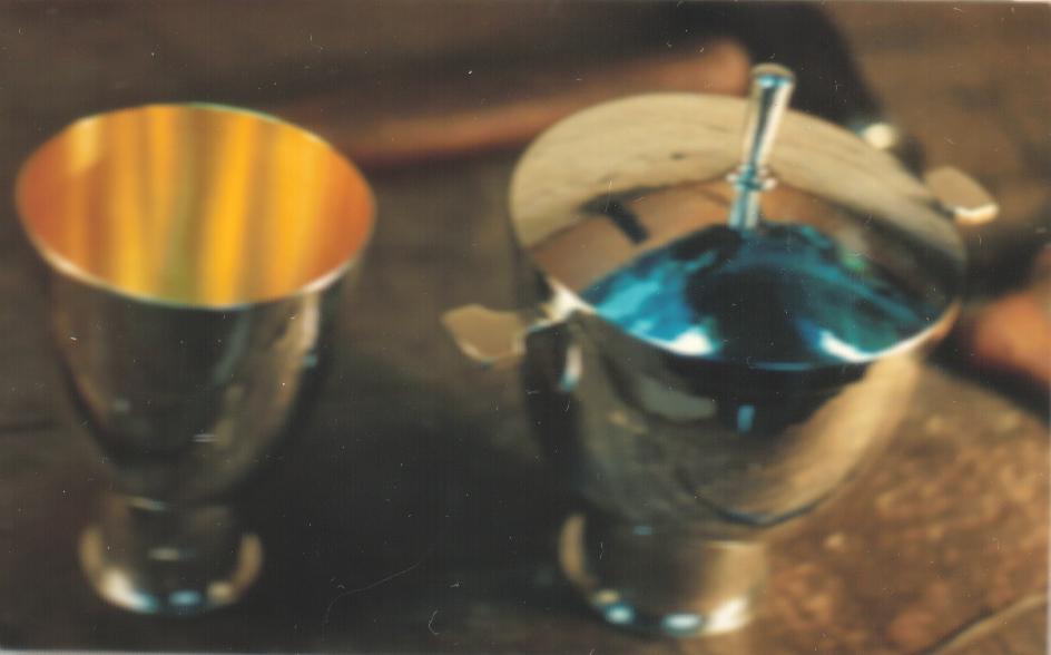 Small Chalice and ciborium
