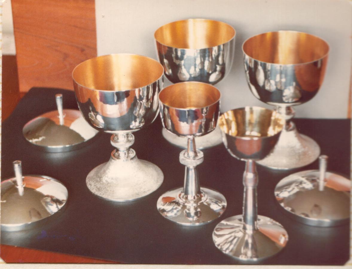 Chalice and Ciborium set