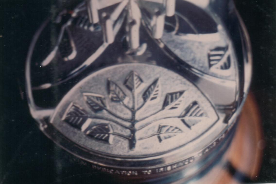 Detail of Lemas Award