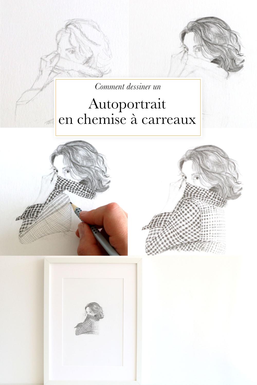 Autoportrait En Chemise à Carreaux The Daily Atelier