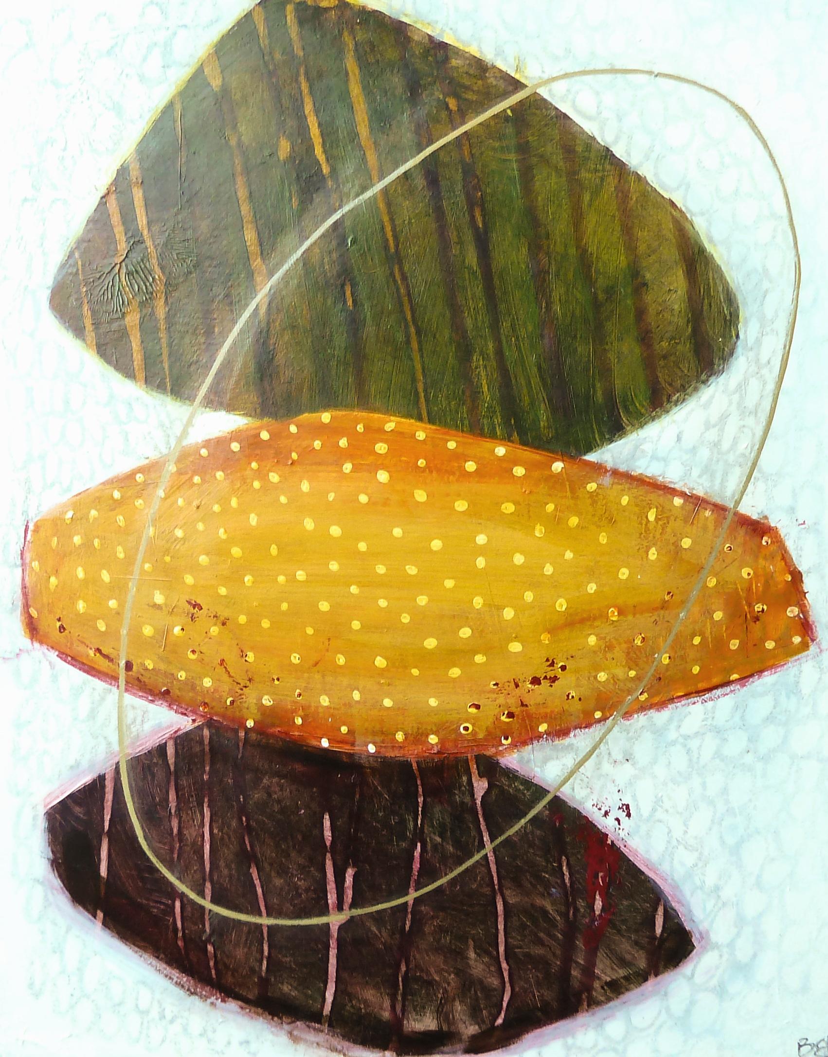 """Pilgrim III, acrylic on museum board, 13.75"""" x 11"""""""