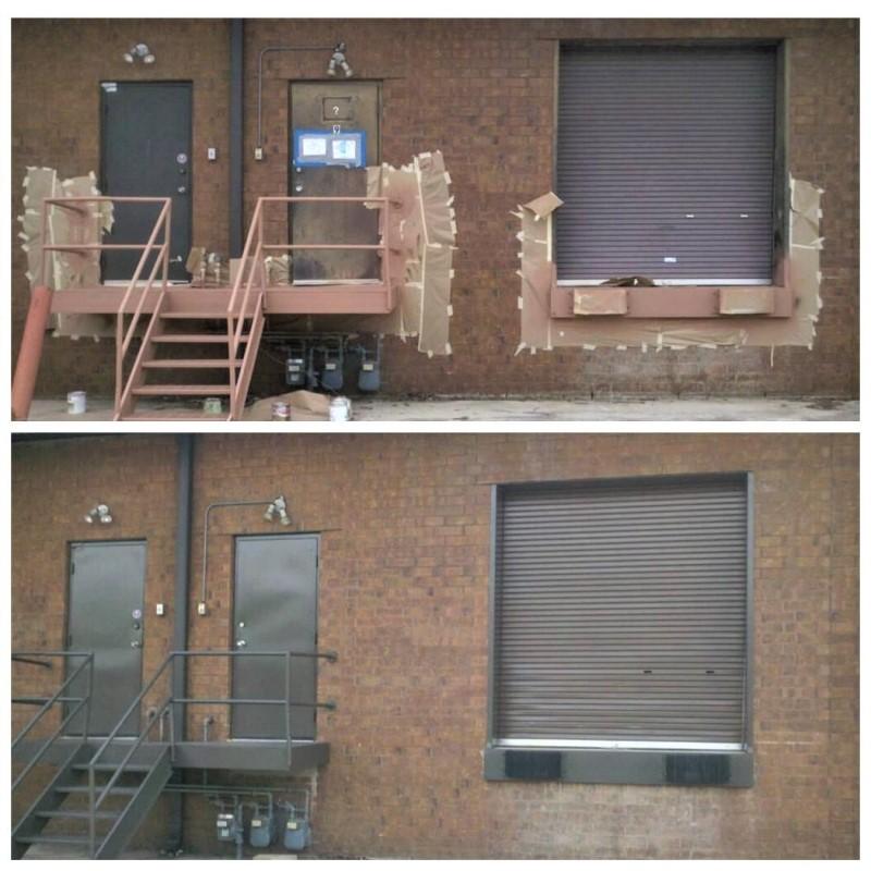 Landing Mandoor and Overhead-door - During and After.jpg