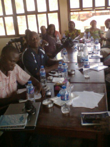 CSO water quality in Liberia workshop