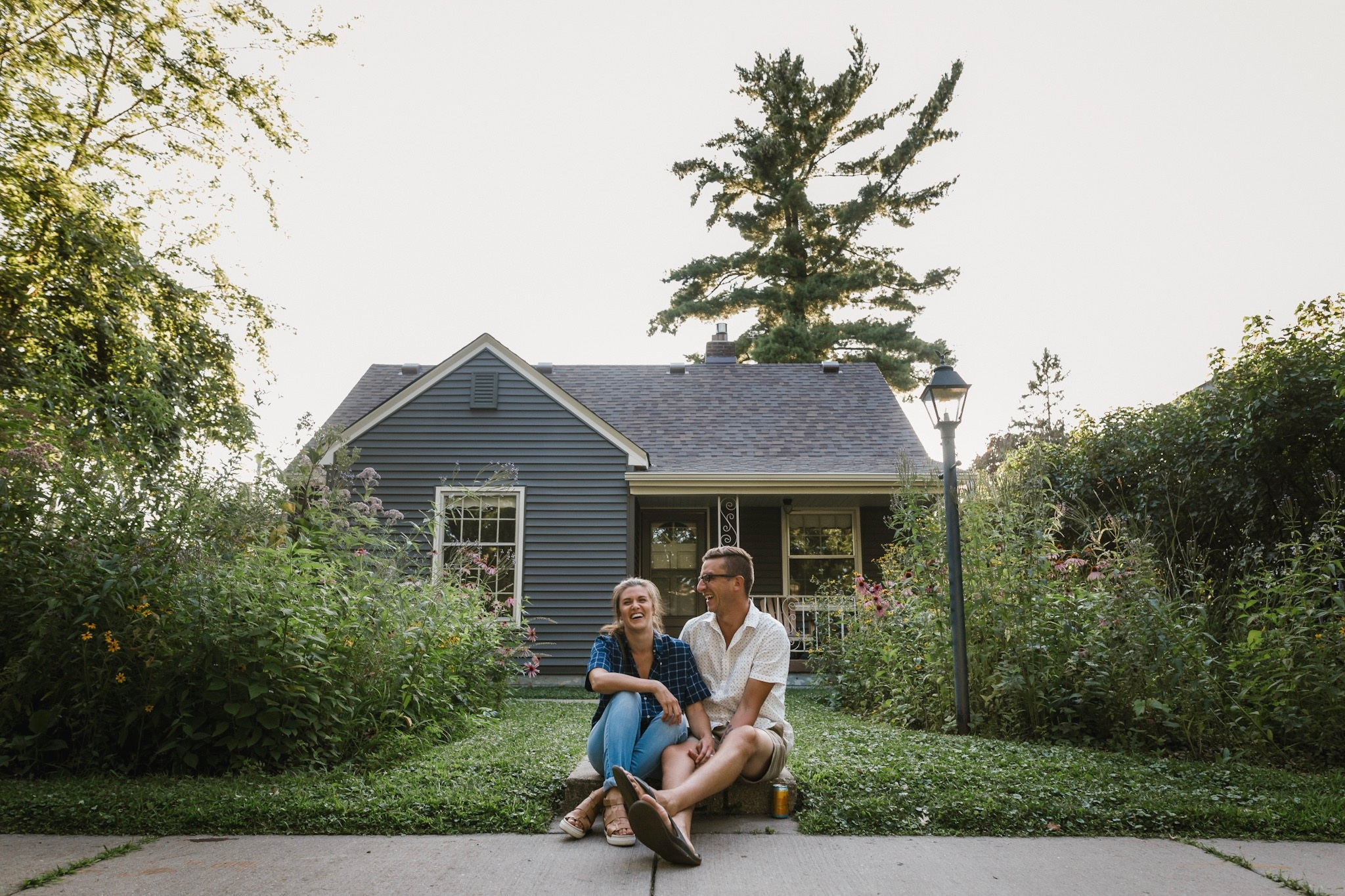 Us at our home, August 2019. Photo by    Joe and Jen Photo   .