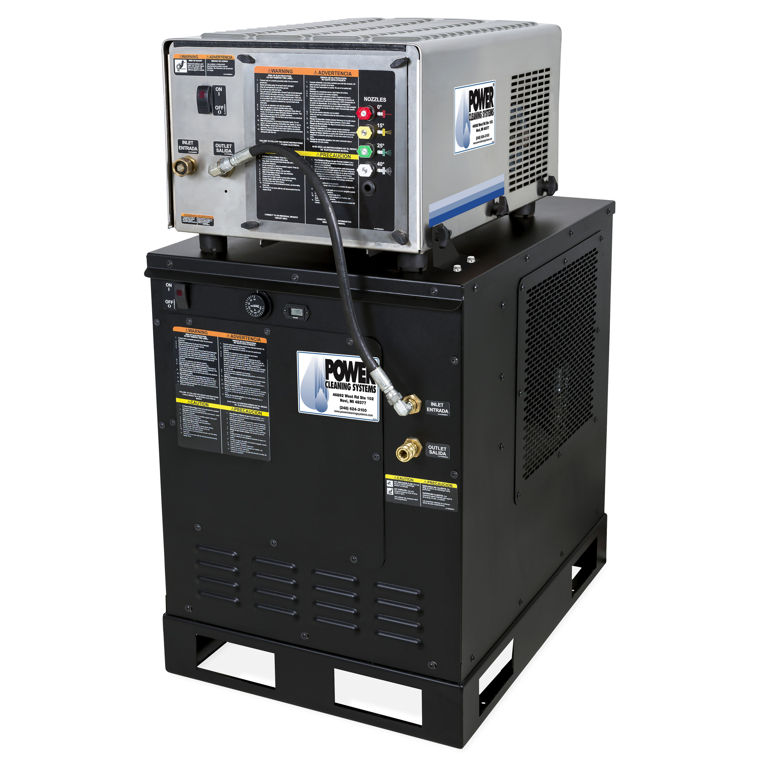 HAE-3004-0E4G - Mi-T-M Stationary All-Electric HAE Series (Belt Drive)