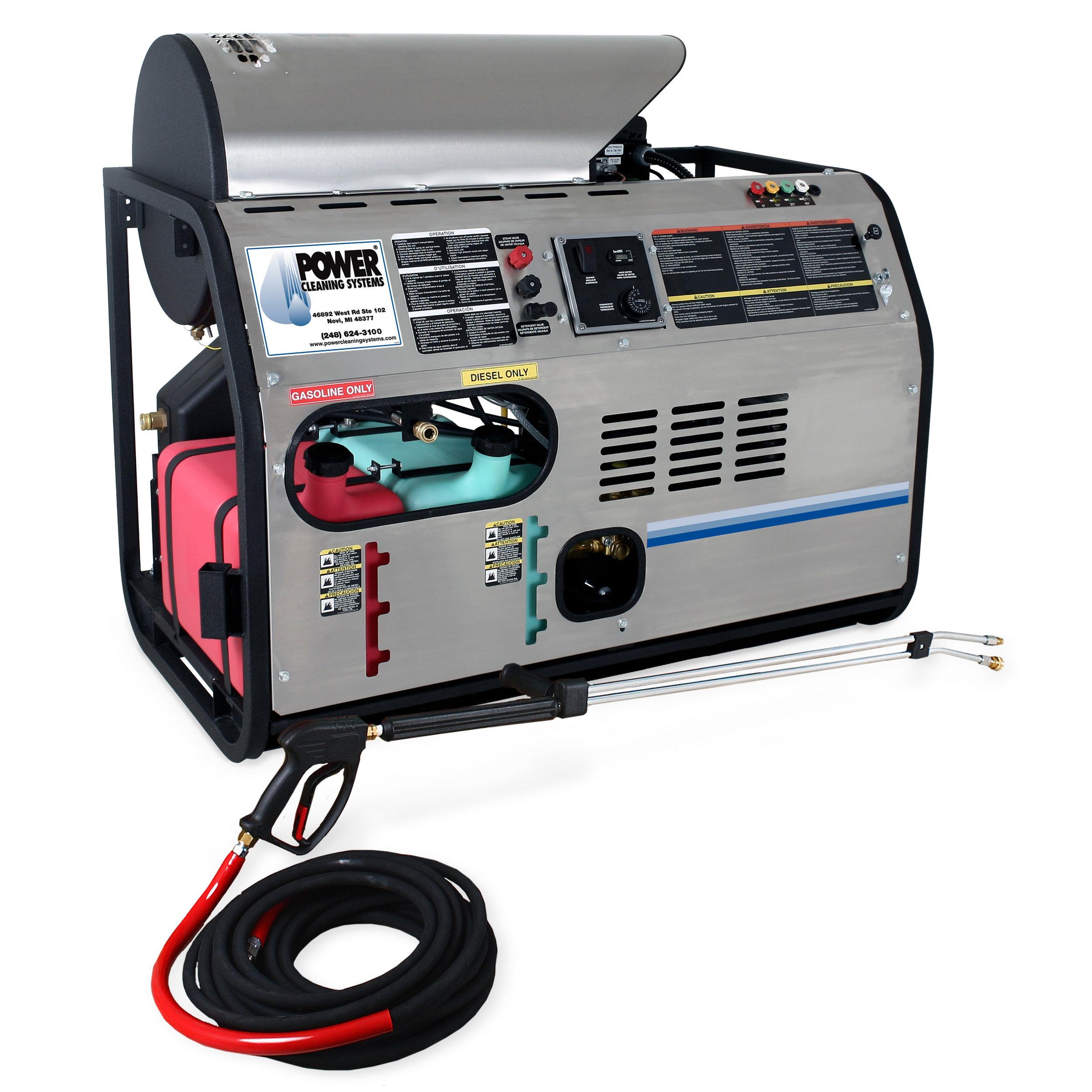 HDB-3005-0K6G - Mi-T-M Skid Gasoline/Diesel HDB Series (Belt Drive)