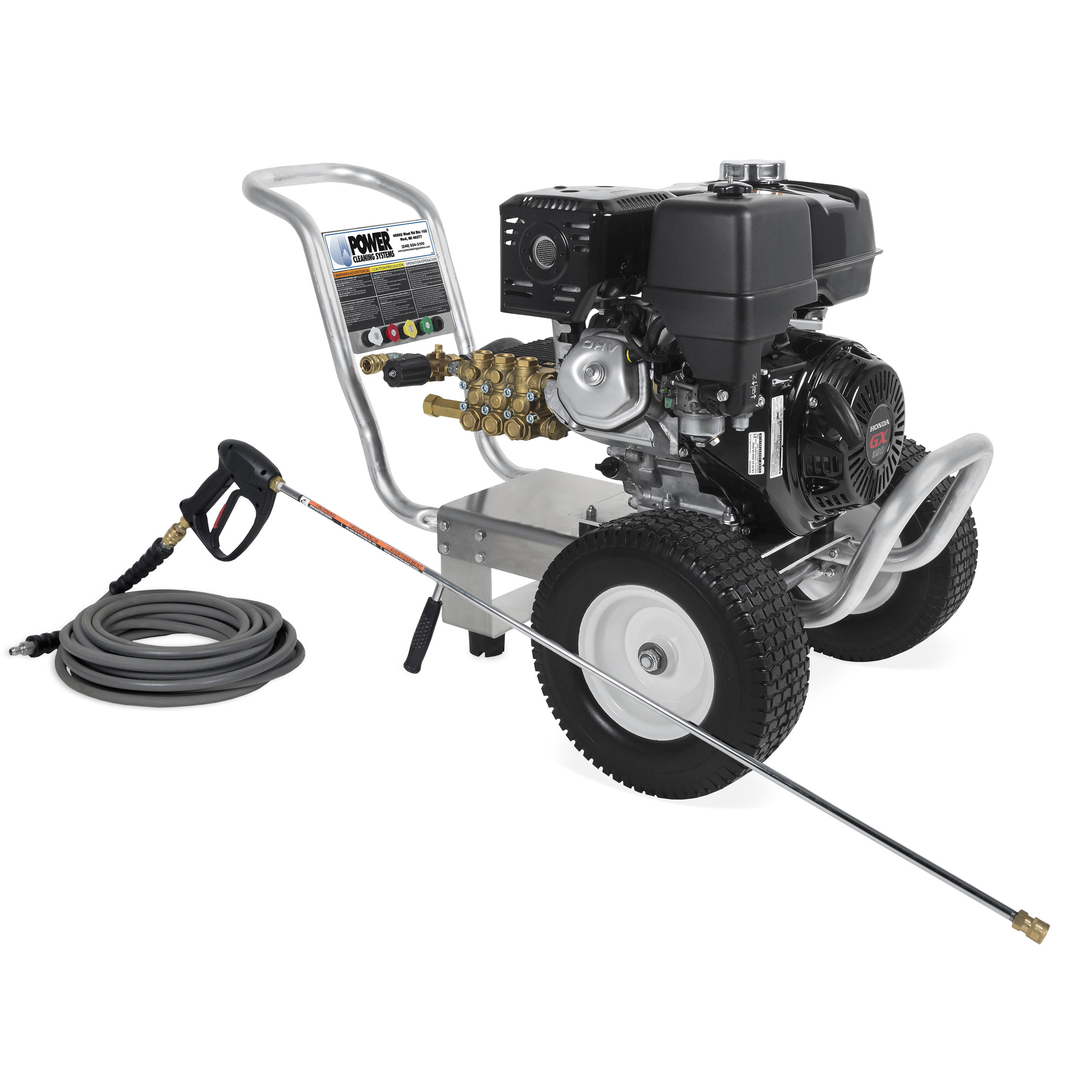 CA-4004-0H6G (Dealer Exclusive) - Mi-T-M Cold Water Pressure Washer