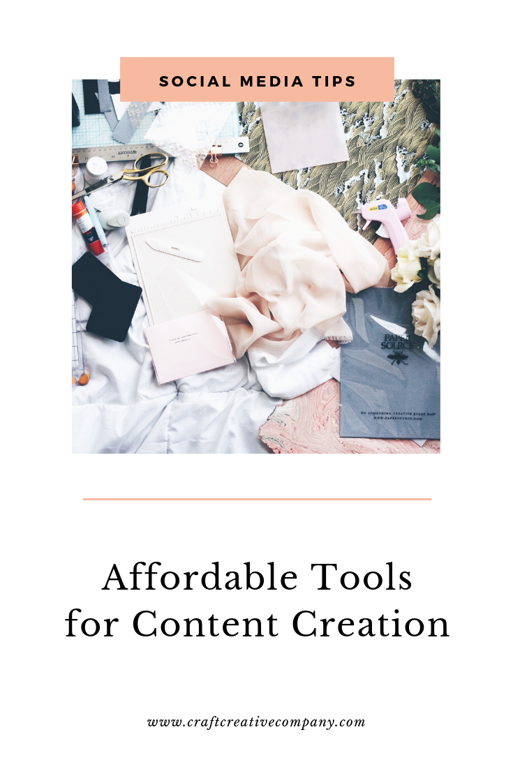 affordable content creation tools