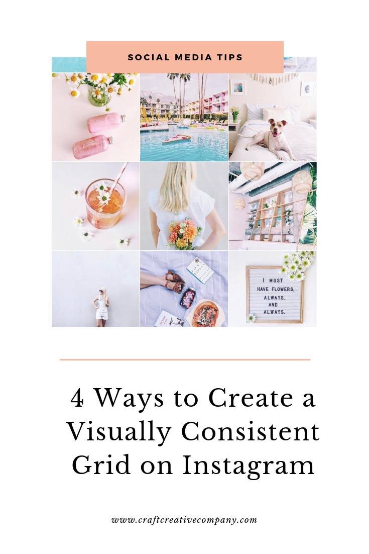 how to create an aesthetically appealing IG feed