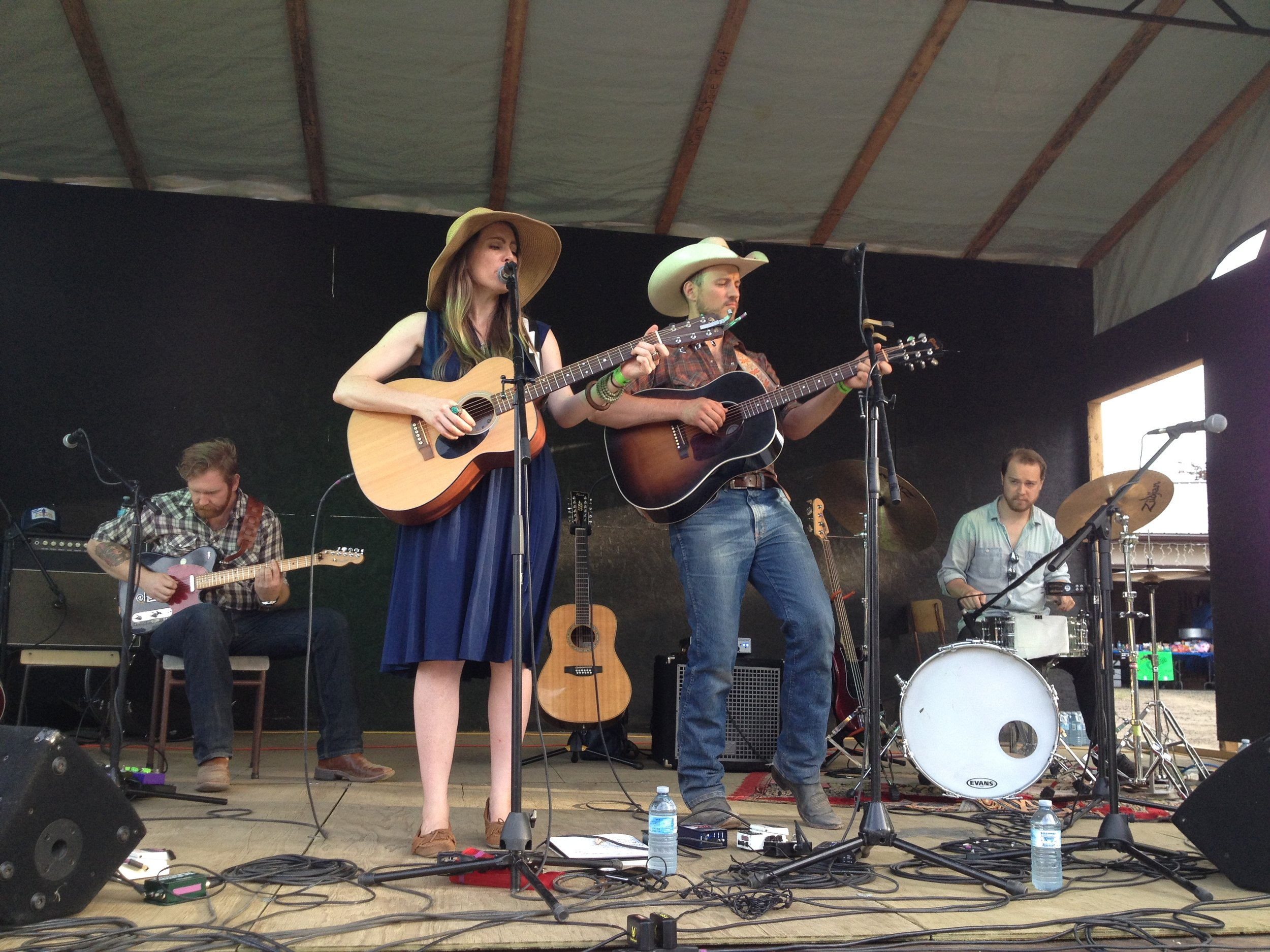Belle Plaine and Blake Berglund Band July 2017
