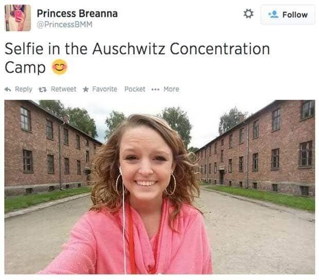 Selfies get complicated.