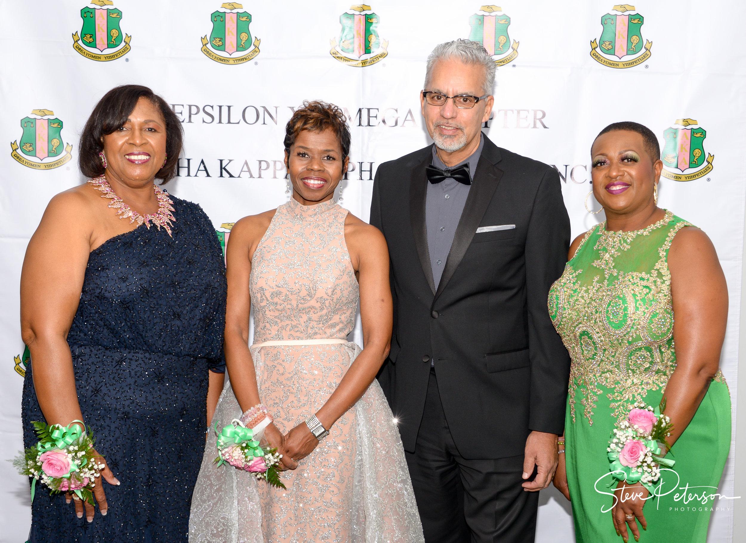 Chair Dr. Shirley Wilson, President Deborah Davis-Gillespie, Michael Brunker and Co-chair Patricia Grooms-Jones.jpg