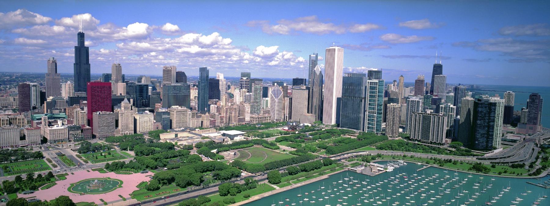 chicago skyline wall art